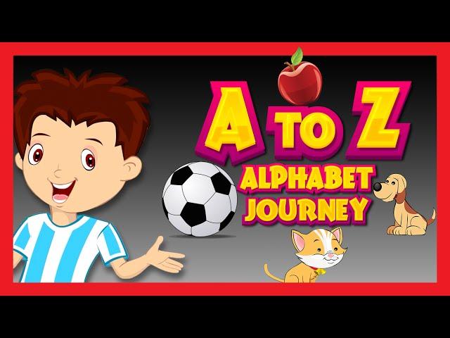 ABC Song for Children | Alphabet Journey Song | Kids Hut