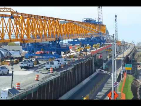Time-lapse video of Bayonne Bridge 'Raise the Roadway' project