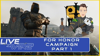 For Honor Campaign Part 1: Knights - For Honor Story Campaign Playthrough