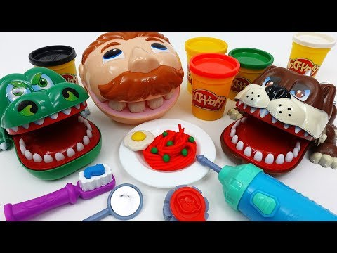 Thumbnail: Don't Forget to Brush Your Teeth~! Play-Doh Doctor Drill N Fill Playset