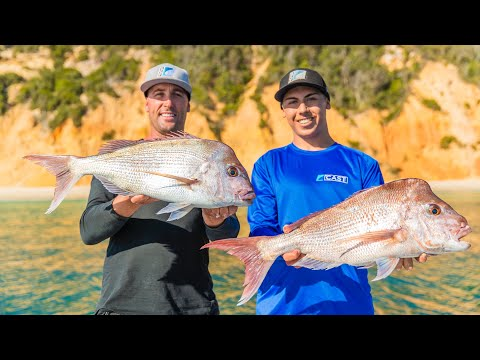 Double Island Point FISHING Adventure - Snapper Catch + Cook EP.4