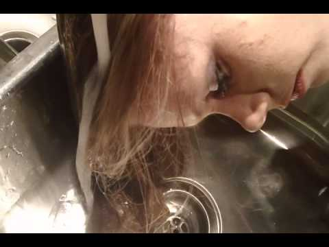 Jessica Kitchen Sink Hair Wash