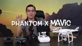 Qual o Melhor Drone. Phantom vs Mavic