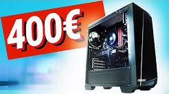 400€ Euro GAMING PC 2019 - Test & Zusammenbauen!!