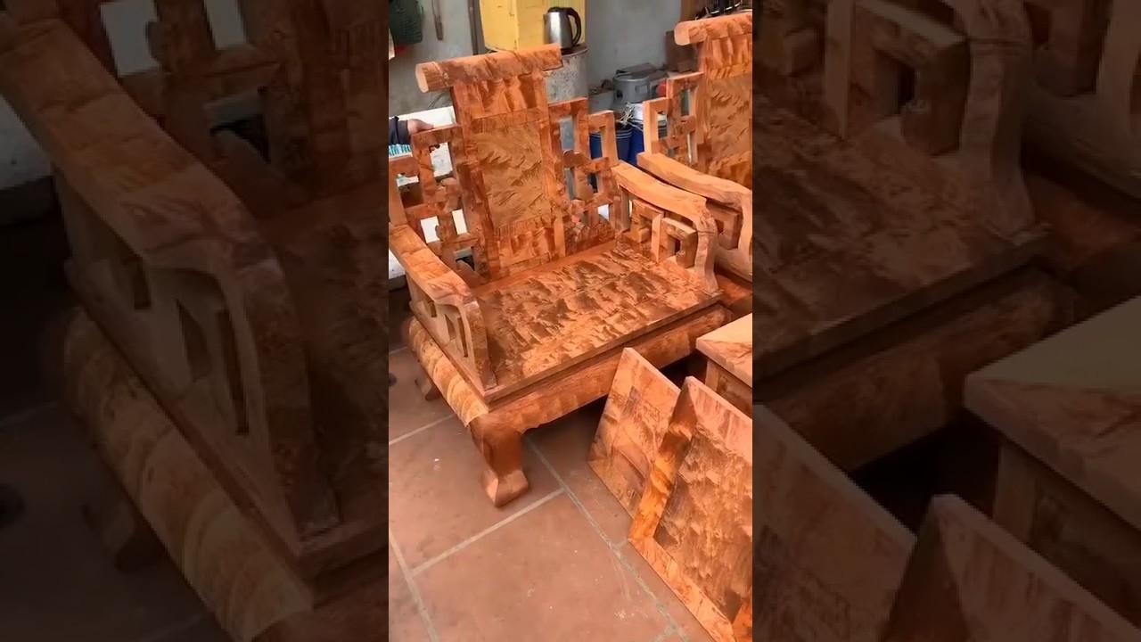 Bộ Sơn thủy gỗ hương Lào |đồ gỗ|sofa bàn ghế phòng khách nội thất đẹp| beautiful wooden funiture