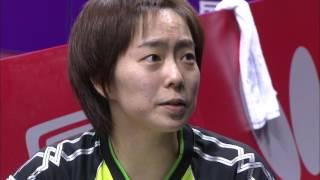 【世界卓球2015】準決勝 混合ダブルス 吉村真晴・石川佳純 決勝進出