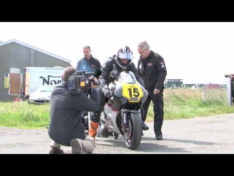Norton NRV588 test at Jurby 2009 IOM