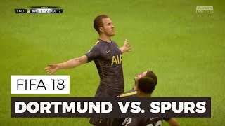 Fifa 18 new gameplay - dortmund vs. spurs: kane scores a worldy