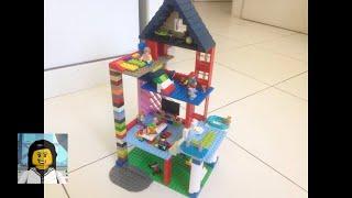 LEGO - Como Construir uma Casa para Crianças!!