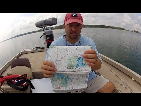 How To Read A Lake Map (Topo Map)