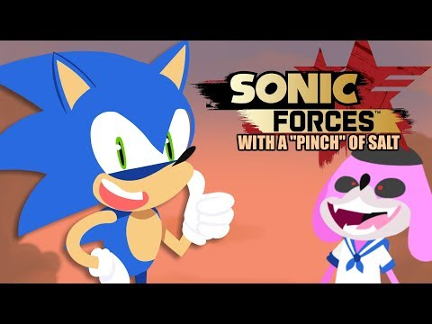 Sonic Forces with a pinch of salt