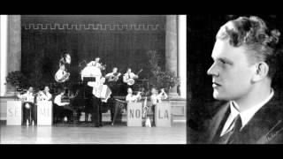 Tonja, Veli Lehto ja Seminola-orkesteri v.1932