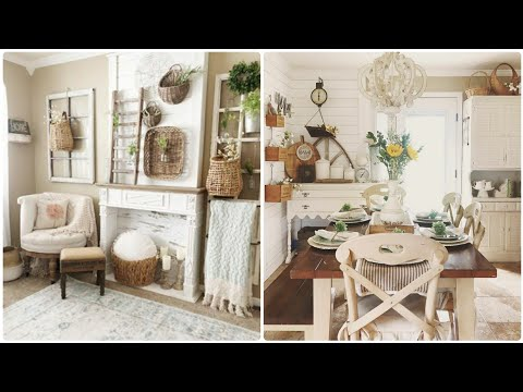 Antique Farmhouse Home Tour | Pinterest Home Tour 🌿