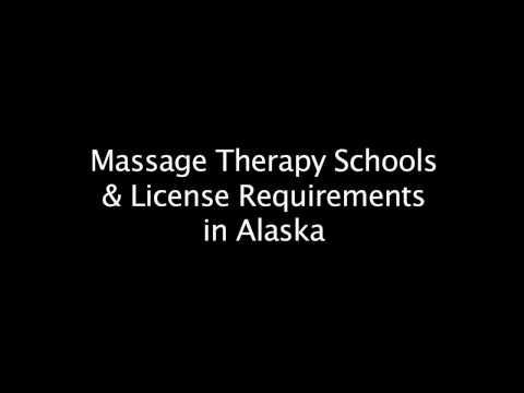 Massage School Requirements in Alaska