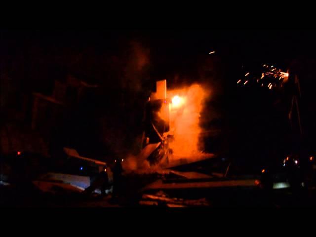 ESF-9 USAR nighttime training using E/T Light