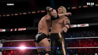 WWE 2K15- The Rock vs Edge Iron Man Match For WWE Champion 2015 (PS4)