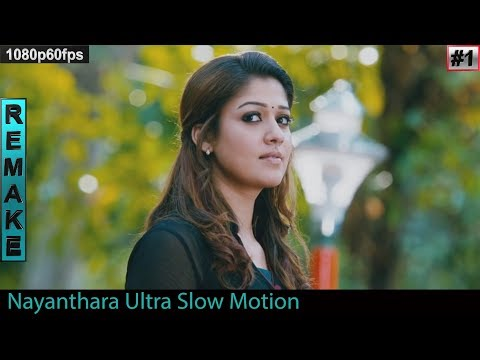 Nayanthara Hot Navel Exotic Slow Edited Part -1
