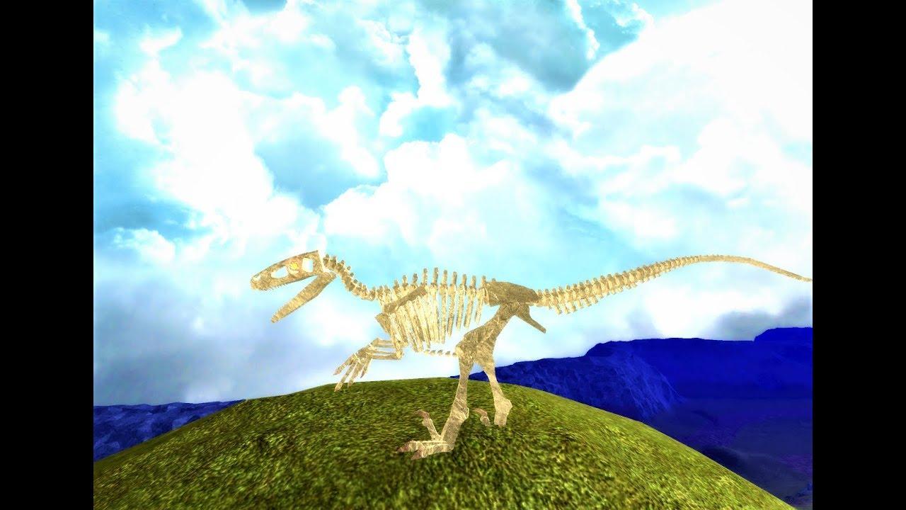 Dinosaur Simulator Halloween Event 2020 Where Is Fossil Utah Roblox Dinosaur Simulator Fossil Utahraptor Location   YouTube