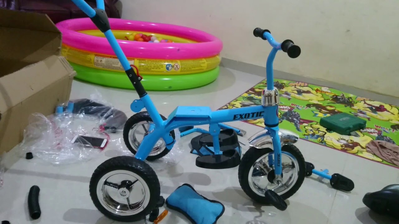 Sepeda Anak Dan Cara Pasang Part 1 How To Build A Kids Trike By Harlie Brother