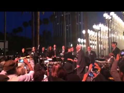 Pete Escovedo Latin Jazz Orchestra The grand finale ~LACMA~