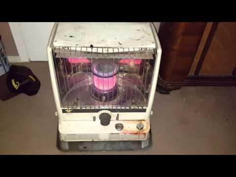 Kerosene heater burning diesel. CO test.