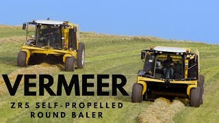 Talking with Vermeer About the ZR5 Self-Propelled Baler