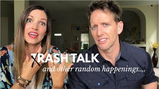 MYSTERIOUS tRASH TALK! | Kristin and Danny