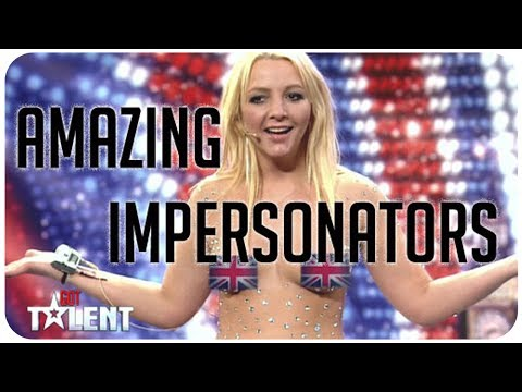 5 imitateurs hilarantes et étonnants de Britain's Got Talent et America's Got Talent thumbnail