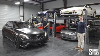 Visiting Tavarish and His New Mercedes S65 AMG! Full Garage Update