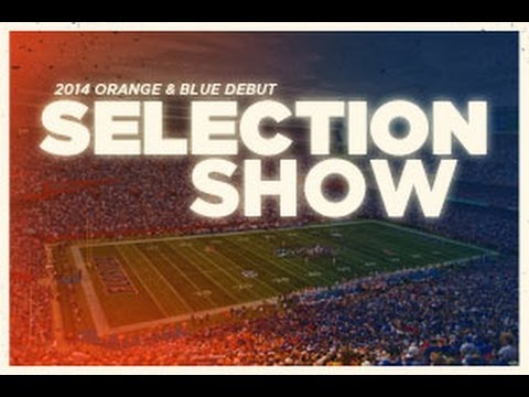 2014 Orange & Blue Debut Selection Show