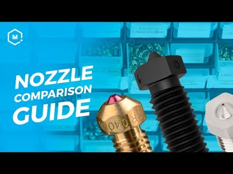 3D Printing Nozzle Comparison // 3D Printing Accessory