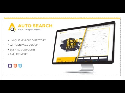 Auto Search - Modern Responsive HTML Template for Car and Auto Dealers - Site Templates Download