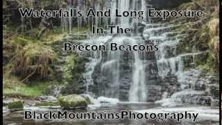 waterfalls brecon beacons long exposure photography