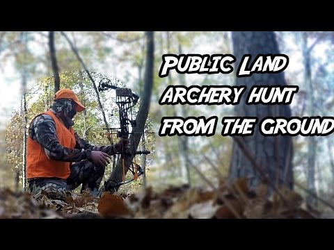 Public Land Whitetail Archery Hunt From The Ground