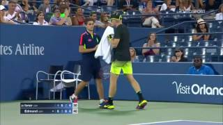 Kyle Edmund beats John Isner at 2016 US Open