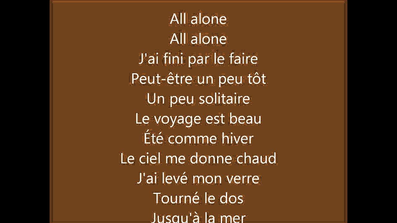 superbus-all-alone-paroles-clemence-goncalves