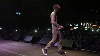 Lil Peep в Москве 30 марта 2017 - live Yotaspace Вид со сцены !
