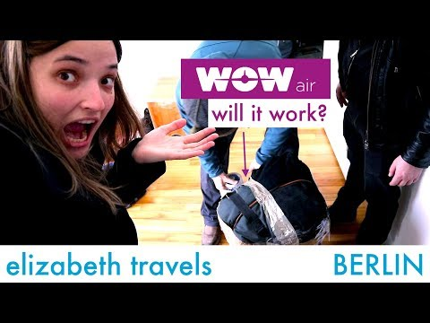 Wowair luggage travel hack | BERLIN