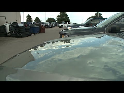 BEARDO - Northern Colorado car dealers have lots full of hail damaged cars