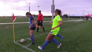 Girls Soccer: Real So Cal vs So Cal Blues