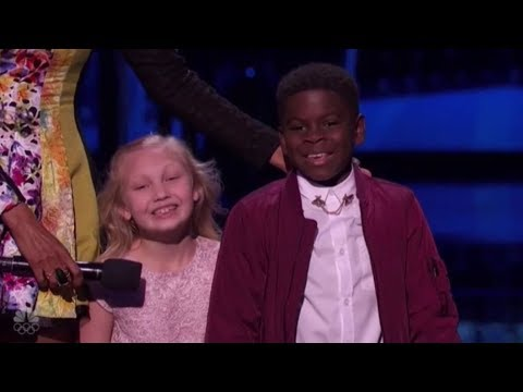 Thumbnail: Artyon & Paige: America's Cutest Dancers EXPLODE On Stage at The Live Shows!
