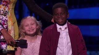 Artyon & Paige: America's Cutest Dancers EXPLODE On Stage at The Live Shows!