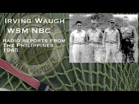 Irving Waugh WSM 1945 from the Philippines