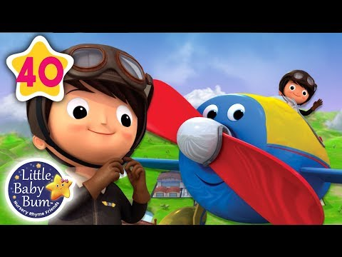 Cantec nou: Song About Planes | +More Nursery Rhymes & Kids Songs | Little Baby Bum