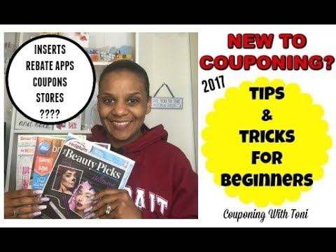 NEW TO COUPONING? ~ TIPS & TRICKS FOR BEGINNERS (2017)