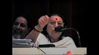 1995-0919 Shri Mataji speech on Conference in Saint Petersburg, Russia