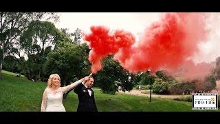Цветной дым на свадьбе. Всегда Эффектно!