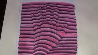 DIY 3D Hand selber malen - Last Minute Geschenk