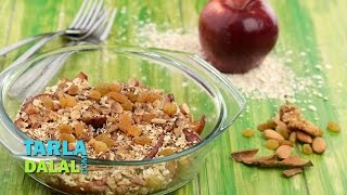 Apple Crumble (healthy Heart, High Fibre Recipe) By Tarla Dalal