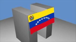Blender 2.57 y Bandera de Venezuela